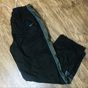 Vintage Nike Men's Windbreaker Lined Track Pants
